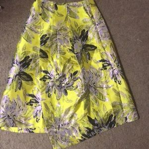Asymmetrical skirt topshop